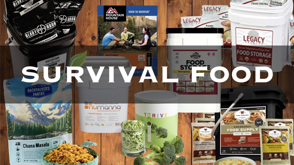 The 8 Best Survival Food Companies for Long Term Food Storage Compared -  Down to Earth Homesteaders