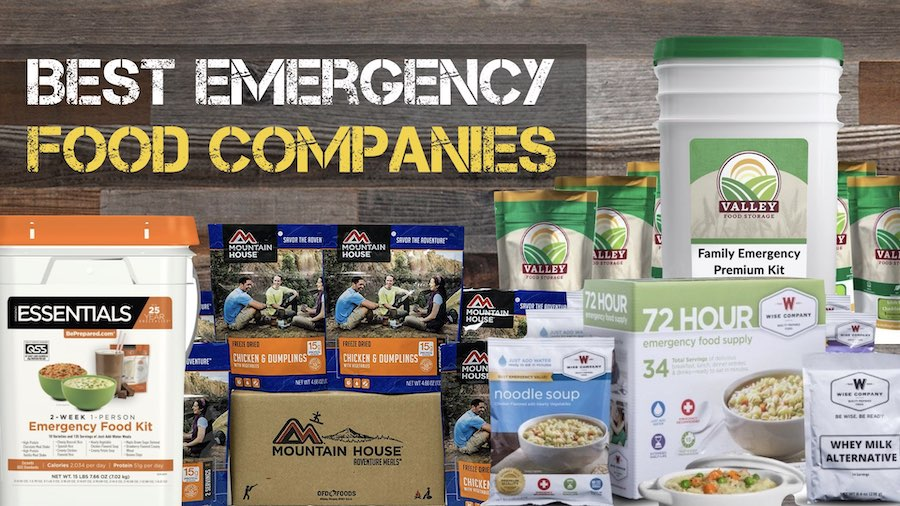 The 10 Best Emergency Food Supply Companies Of 2020
