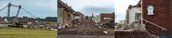 Verlaten Duitse dorpen