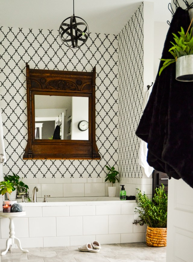 Master Bathroom Wallpaper