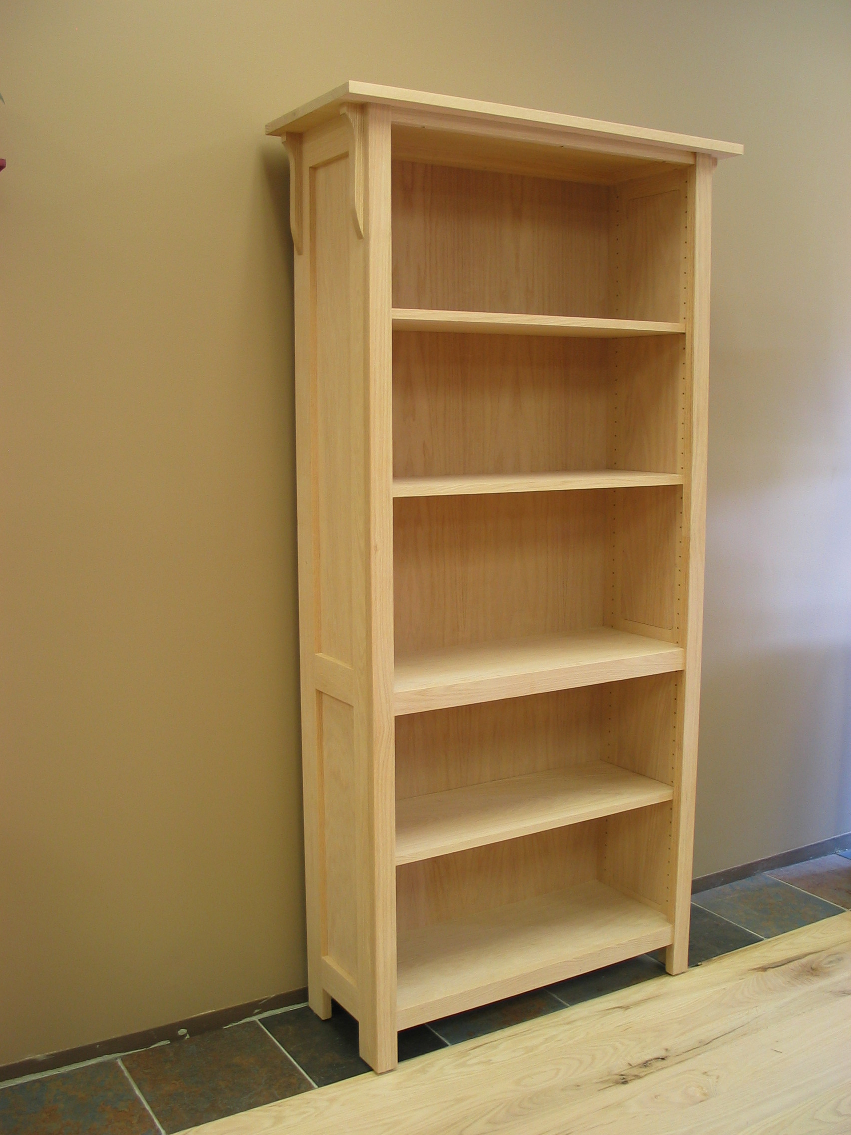 Mission Bookcase 17 34 Deep