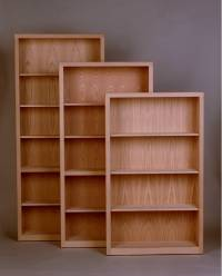 "Contemporary Bookcase 12"" Deep"