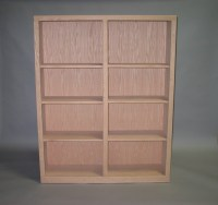 "Contemporary Bookcase 16"" Deep"