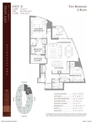 "Austonian Floor Plan ""D"""