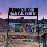 The Hope Outdoor Gallery / Graffiti Wall