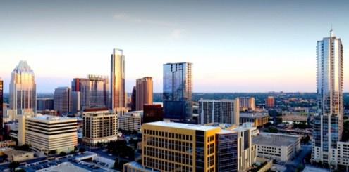 A downtown view