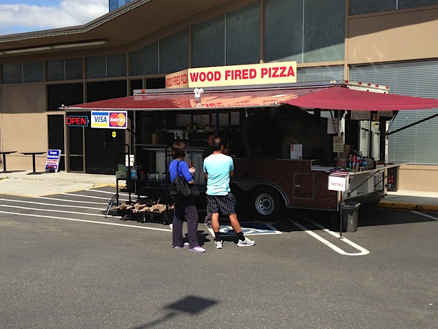 Wood Fired Pizza Trailer Moves Locations Downtown Bellevue Network