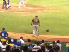 Manny Ramirez on deck