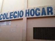 Entrance to Colegio Hogar and Tia Tatiana School in Herrera