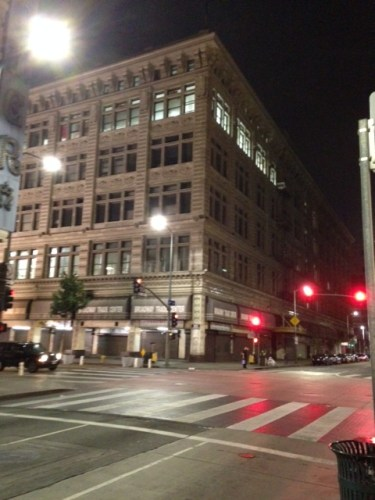 Originally Hamburger's Department Store, then May Co. and soon to be creative office space and more