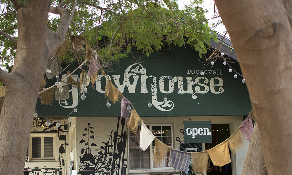 The Roosevelt Growhouse on its last day of business on October 30th. (Craig Johnson/DD)