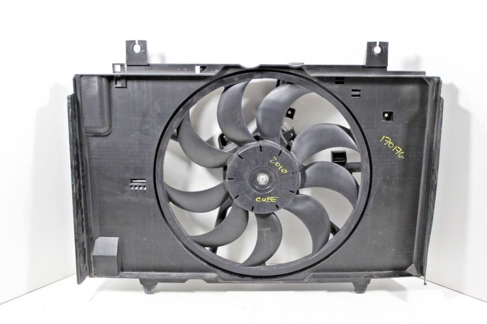 medium resolution of 2009 2010 nissan cube electric engine cooling fan