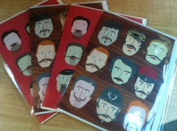 Moustache card - Generation Green at the Forks