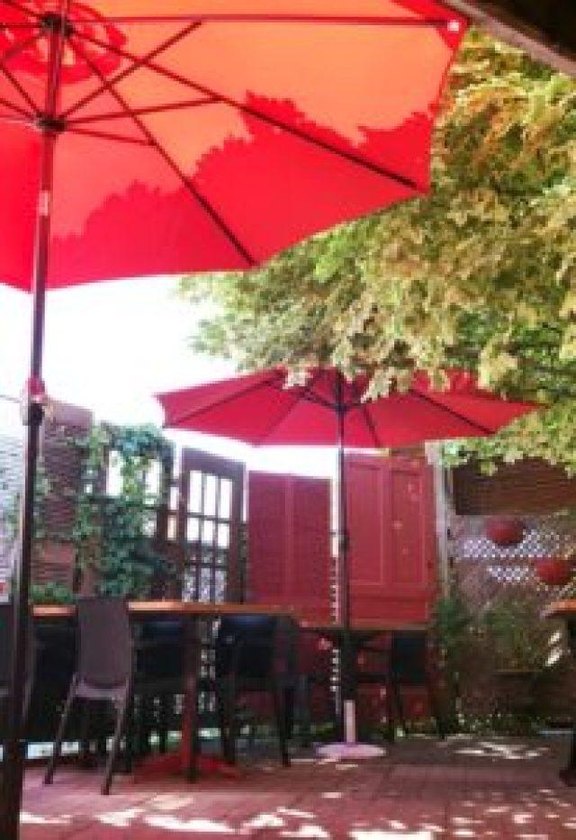 Berry Hill patio in downtown Oshawa.