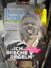 """Business Punk """"ICH BRECHE REGELN"""""""