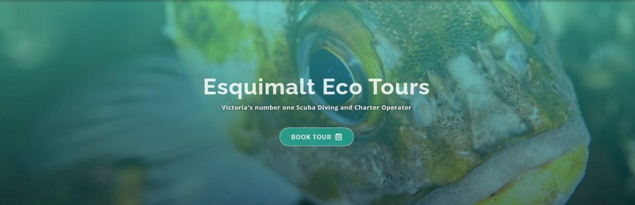 Esquimalt Eco Tours Header section