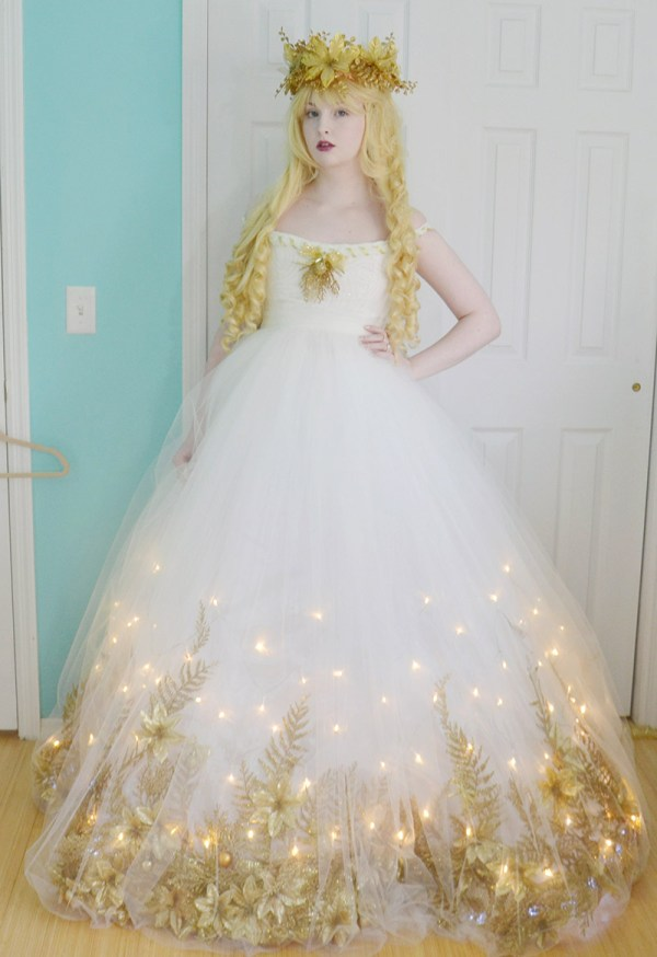 Making Christmas Angel Costume Part Two Angela