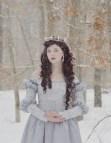Medieval Winter Princess Dress