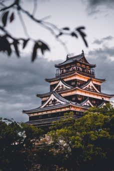 A pagoda in china.