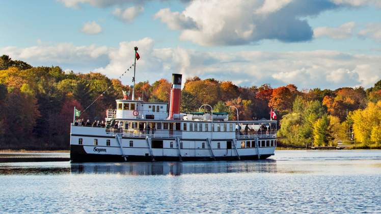 A picture of a Muskoka Steamship.