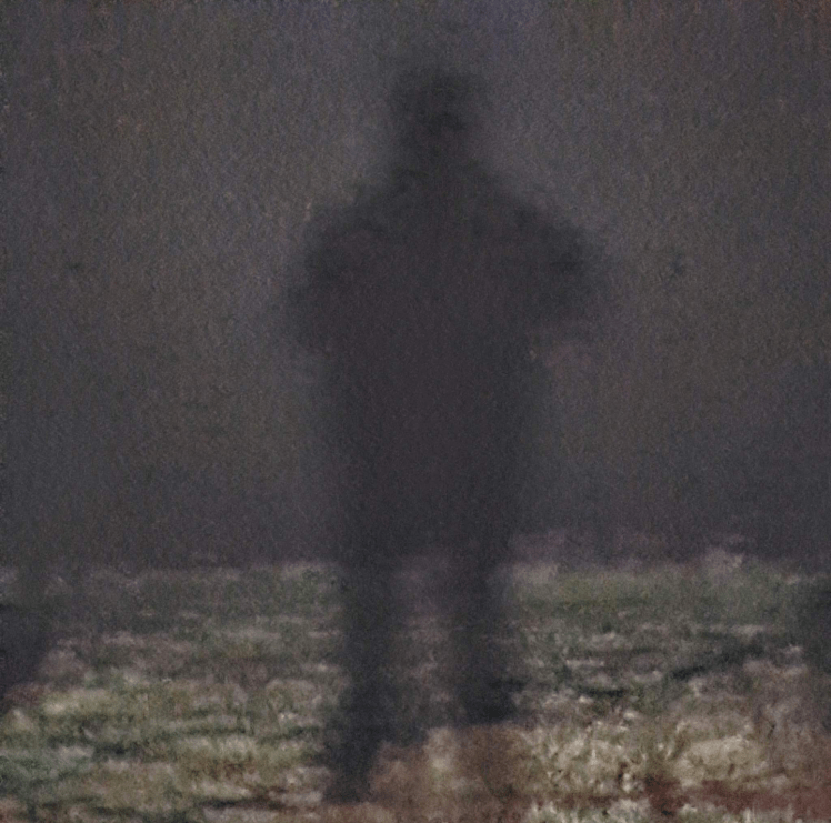 A shadow figure