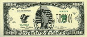 Billion-dollar-bill