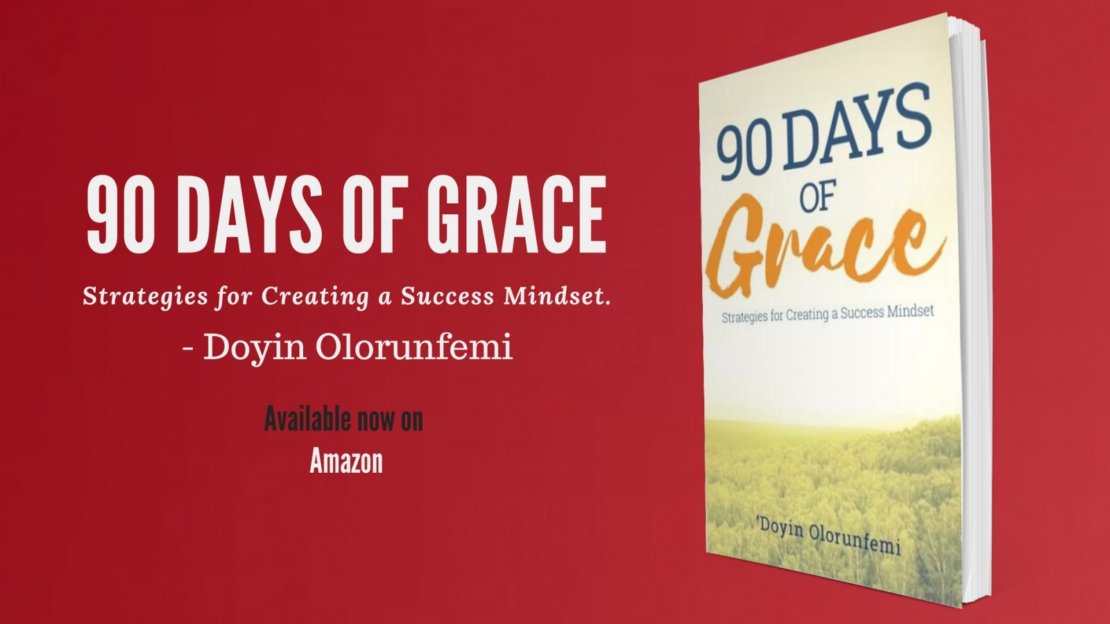 Doyin Olorunfemi author of 90 Days of Grace