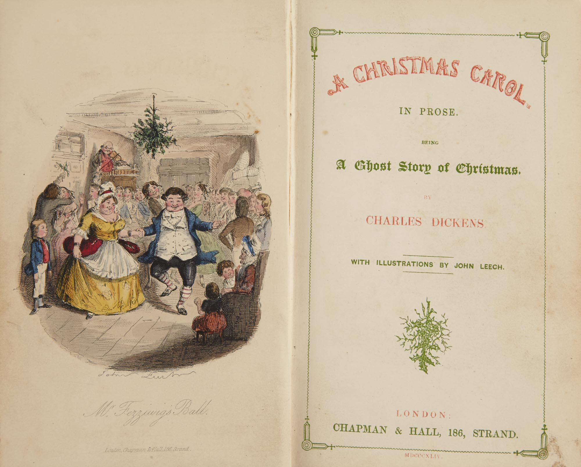 Dickens Charles A Christmas Carol In Prose Being A