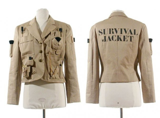 moschino couture survival jacket