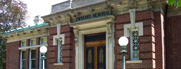 ridgefield library morris building