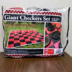 Kitchen Tool Holder Wall Decor Giant Checkers Game | Doyle Shamrock Industries