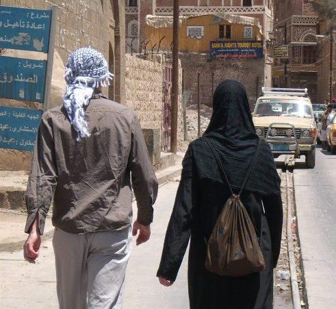 Feldpost Jemen #2: Schwarz oder lieber Schwarz? Shoppen mal anders