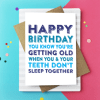 https://www.doyoupunctuate.com/collections/new-work/products/happy-birthday-youre-one-step-closer-card