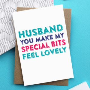 Bargain! 4 Cards For £10 Husband