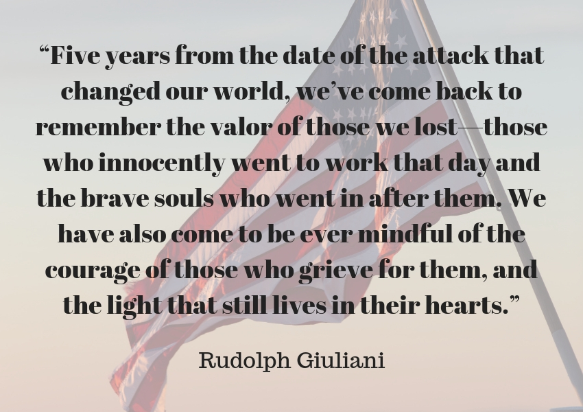 Their stories continue to inspire us on the anniversary of the. Six Powerful Quotes To Remember On The Anniversary Of 9 11