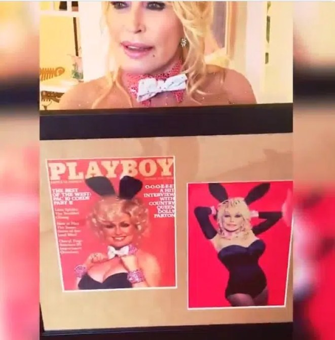 Dolly Parton Playboy covers
