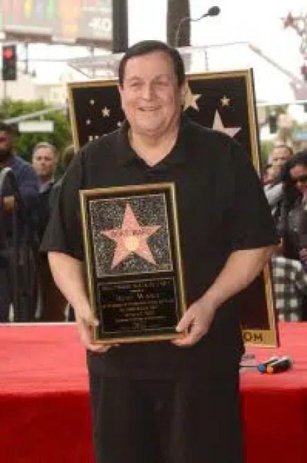 Ward at last receives his Hollywood Walk of Fame star