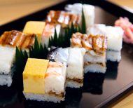 箱寿司 (hako-sushi)