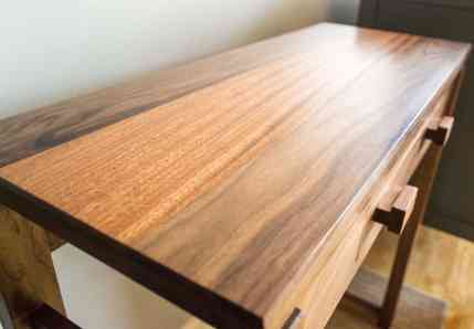 Console Table - Floating Top