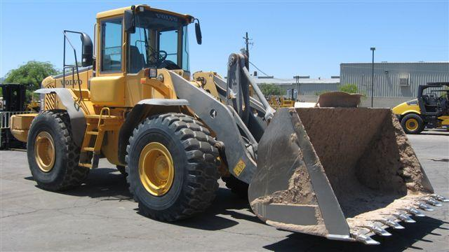 2004 Volvo L120E Wheel Loader « Hanna Equipment