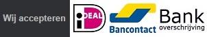 DP Reizen accepteert betalingen per iDEAL, Bancontact en Bankoverschrijving. Voor andere betaalmogelijkheden geldt een toeslag.