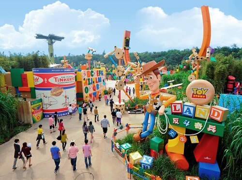 Toy Story Land - Hong Kong Disneyland
