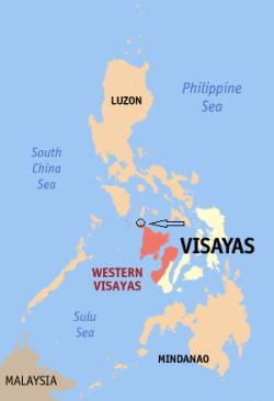 Locatie Boracay - Western Visayas, Filipijnen