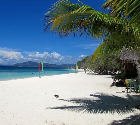 Malcapuya Island - Coron, Palawan, Filipijnen