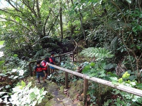 Trekking naar Lake Danao - Negros Oriental, Central Visayas, Filipijnen