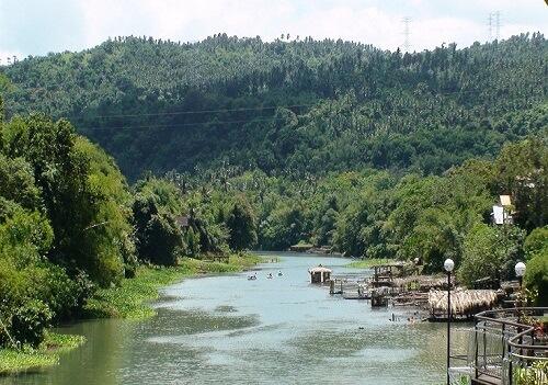 De Pagsanjan Rivier - Pagsanjan (Laguna), Luzon, Filipijnen