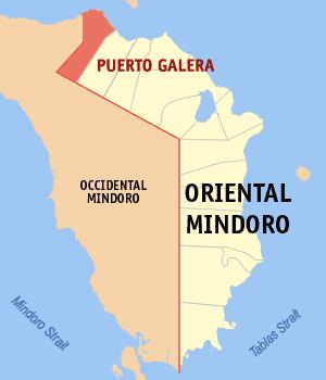 Puerto Galera in de provincie Oriental Mindoro - Luzon, Filipijnen