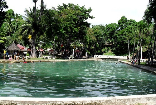 San Juan de Capilay Spring Park - Siquijor, Central Visayas, Filipijnen