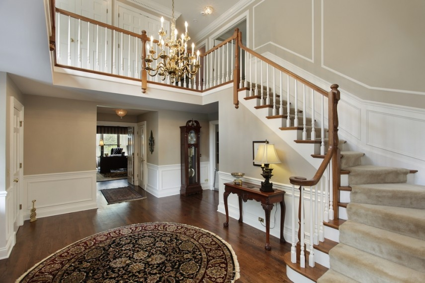In Pics Classic Staircase Designs For Your Home | L Shape Stair Design