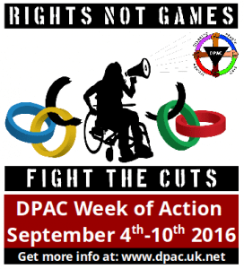 Rights not Games week of action